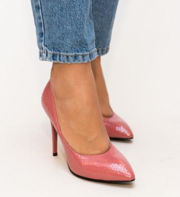 Pantofi Atif Roz