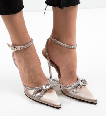 Pantofi Barkas Aurii