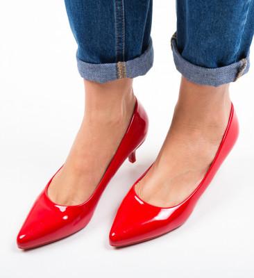 Pantofi Brock Rosii