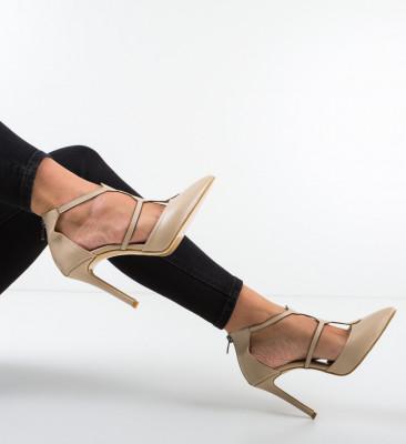 Pantofi Capsulde Bej