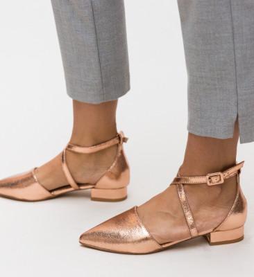 Pantofi Carli Aurii 2