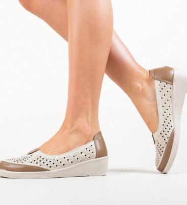 Pantofi Casual Aldron Bej
