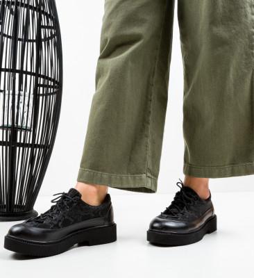 Pantofi Casual Alexo Negri 4