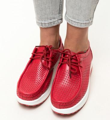 Pantofi Casual Blanken Rosii