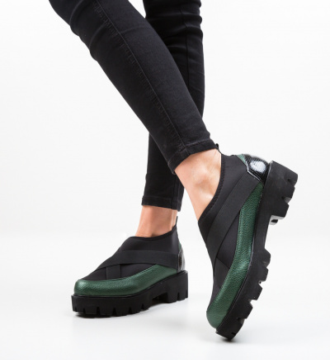 Pantofi Casual Buse Verzi