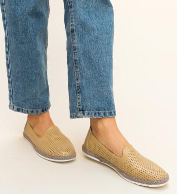 Pantofi Casual Cioline Bej