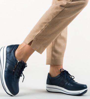 Pantofi Casual Craig Bleumarin