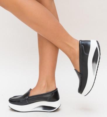 Pantofi Casual Drigo Negri 2