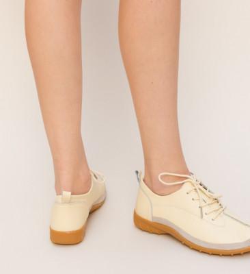 Pantofi Casual Escan Bej