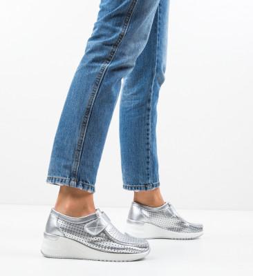 Pantofi Casual Farza Argintii