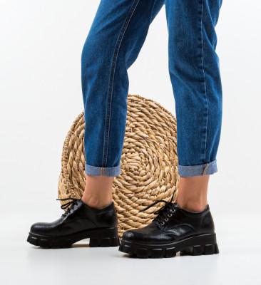 Pantofi Casual Fragara Negre