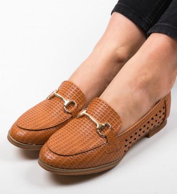 Pantofi Casual Gaia Camel