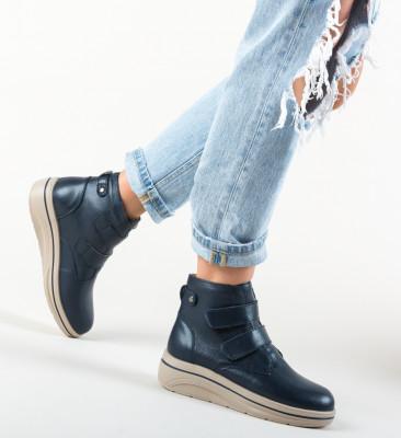 Pantofi Casual Jabal Bleumarin