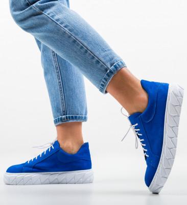 Pantofi Casual Jona Albastri
