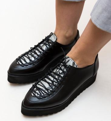 Pantofi Casual Lazerol Negri