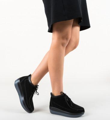 Pantofi Casual Lennon Negri