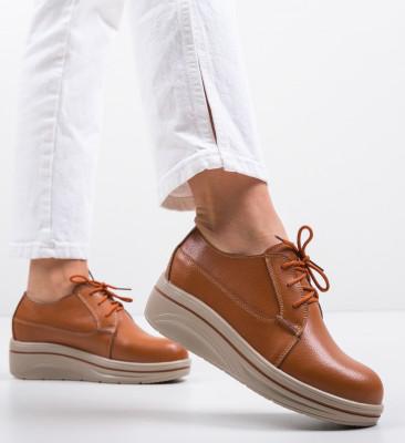 Pantofi Casual Lionata Camel