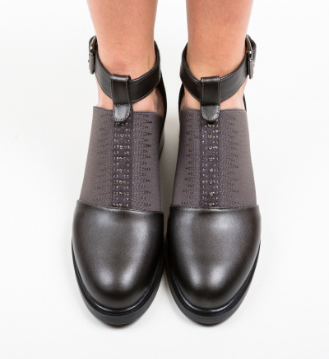 Pantofi Casual Loreta Negri 2