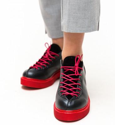 Pantofi Casual Lukano Negri