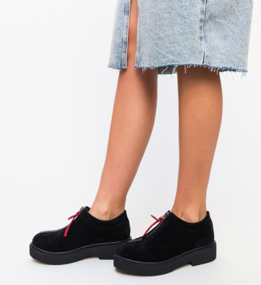 Pantofi Casual Lukoni Negri 4
