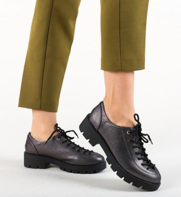Pantofi Casual Mahdi Gri