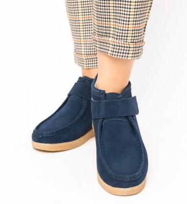 Pantofi Casual Miuto Bleumarin
