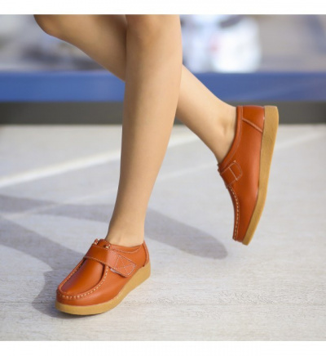 Pantofi Casual Monta Portocalii