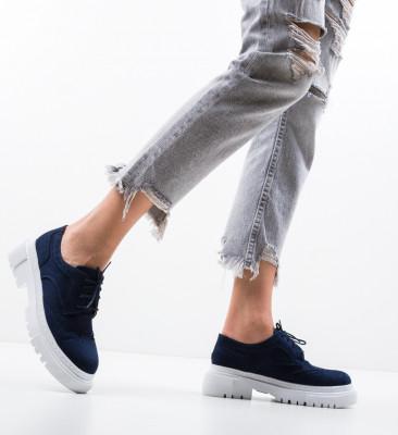 Pantofi Casual Mrela Bleumarin