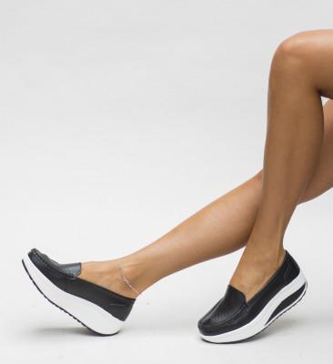Pantofi Casual Musta Negri
