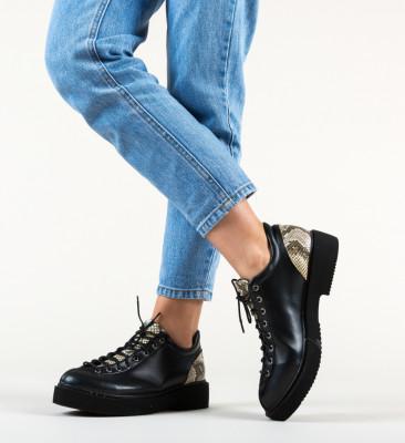 Pantofi Casual Neavio Negri