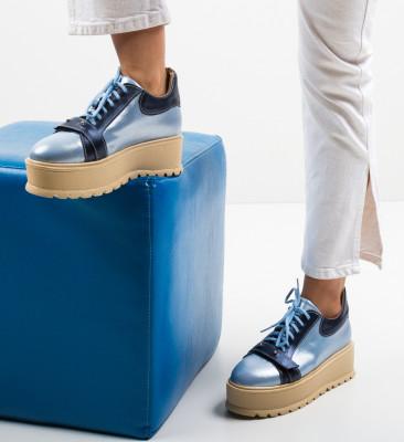 Pantofi Casual Okila Albastri