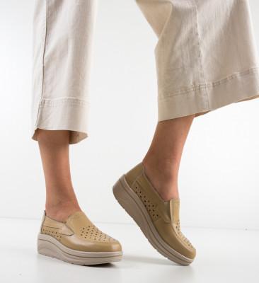 Pantofi Casual Olifram Bej
