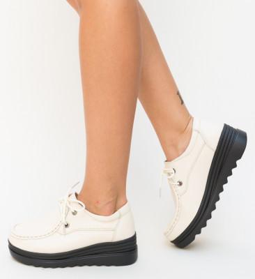 Pantofi Casual Petro Bej