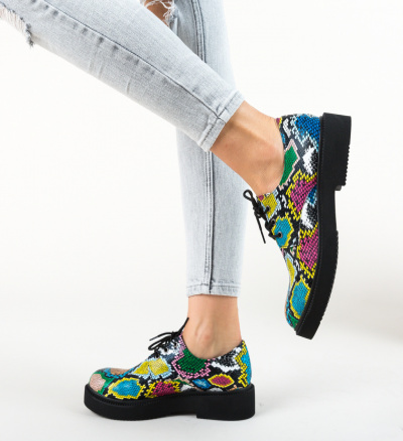 Pantofi Casual Poly Negri