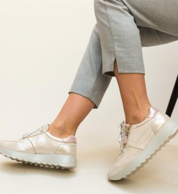 Pantofi Casual Poxiter Bej