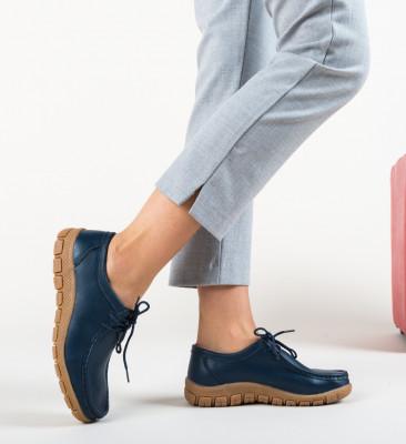 Pantofi Casual Pranav Bleumarin