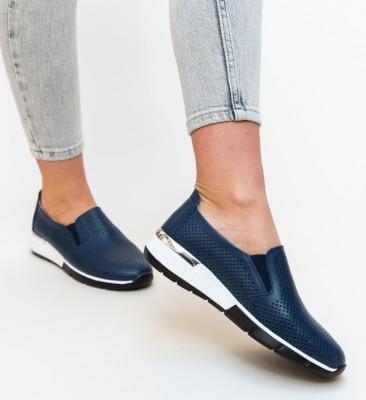 Pantofi Casual Pufine Bleumarin