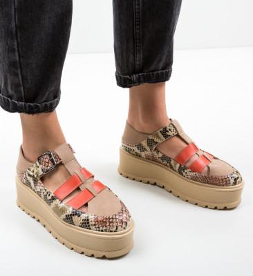 Pantofi Casual Ramada Bej