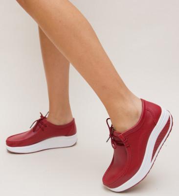 Pantofi Casual Roly Rosii