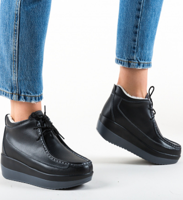 Pantofi Casual Ryhko Negre