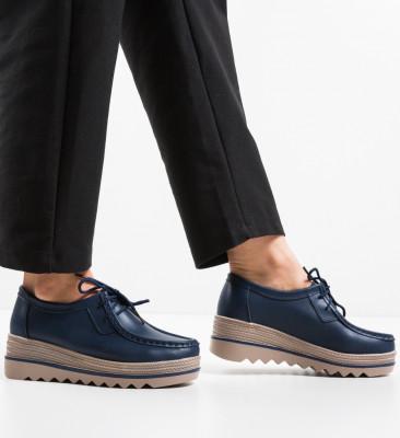 Pantofi Casual Sag Bleumarin