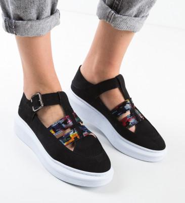 Pantofi Casual Sonicx Negri 2