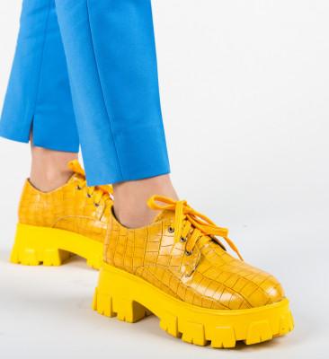 Pantofi Casual Taylor Galbeni