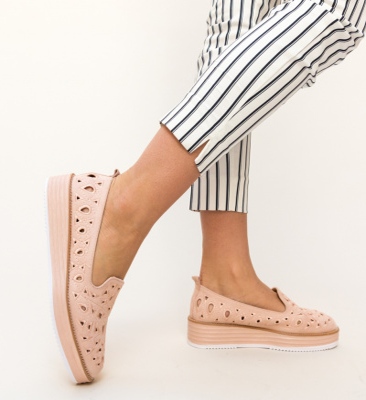 Pantofi Casual Volte Roz