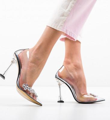 Pantofi Celiaga Argintii