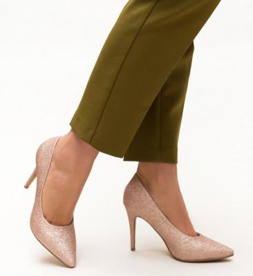 Pantofi Cruze Aurii