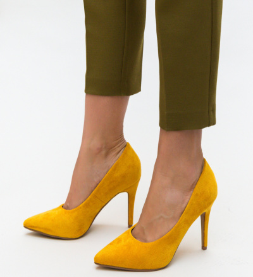 Pantofi Cruze Galbeni