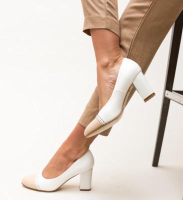 Pantofi Darla Albi