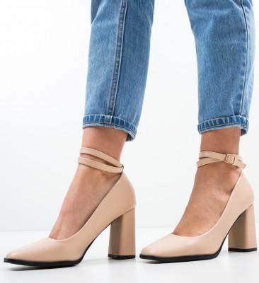 Pantofi Emme Nude