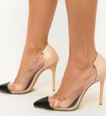 Pantofi Fahym Nude